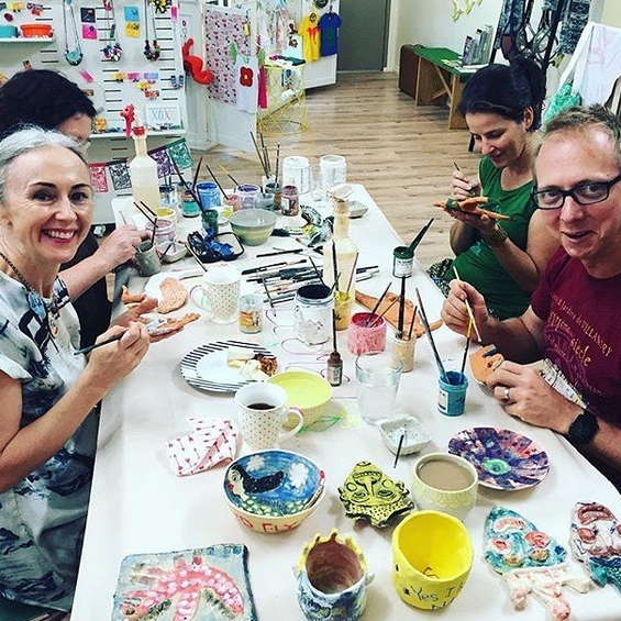 cairns pottery classes