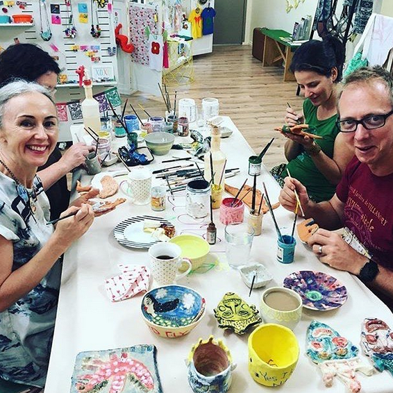 pottery classes cairns