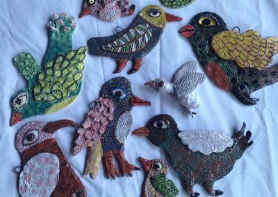 Bird Wall Hangings
